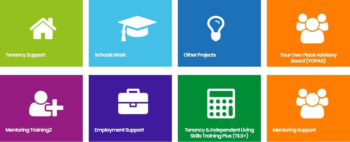 Organisation Image (Your Own Place: Services Graphic)