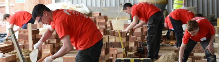 Company Image (R G Carter: Staff Training, Bricklaying Workshop)