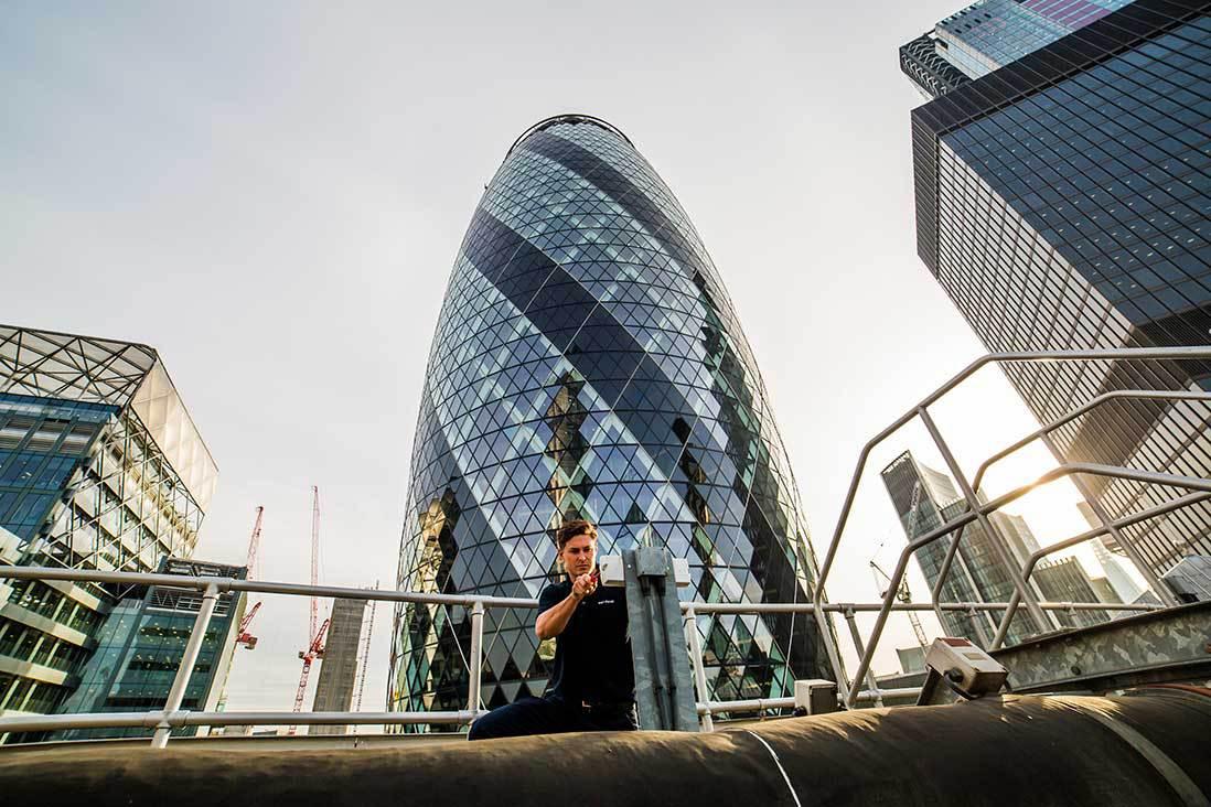 Company Header: (Atalian Servest:  City Building)