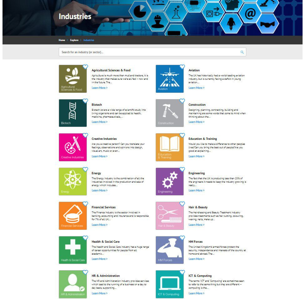 Organisation Image (icanbea... : Industries)