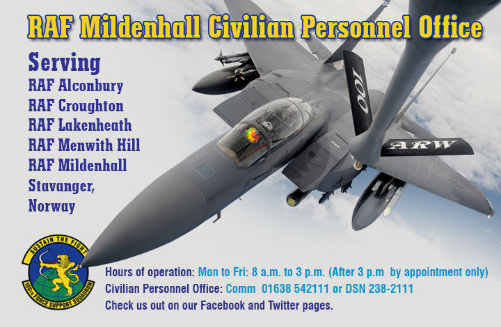 Organisation Image (RAF Mildenhall Civilian Personnel Office)