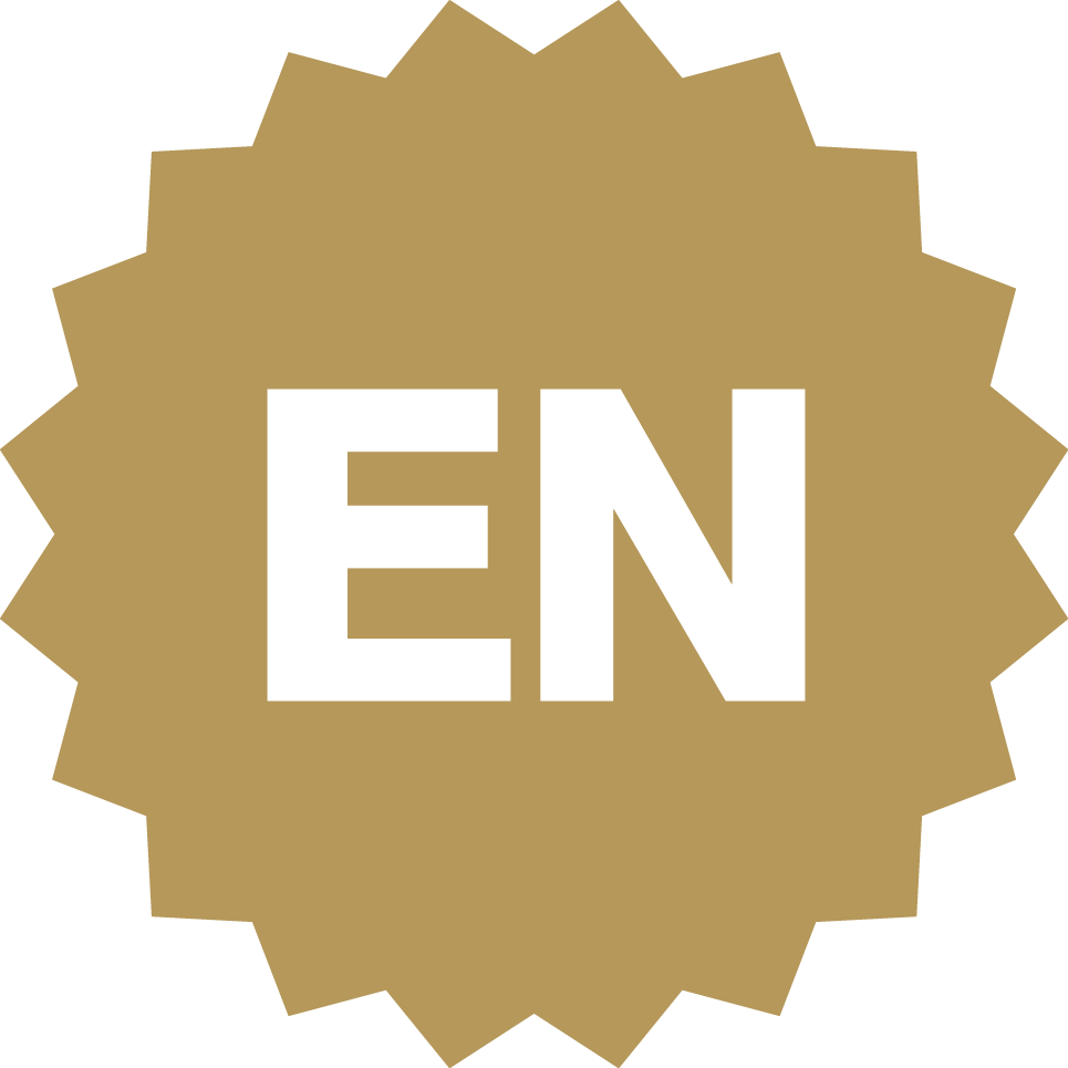 Eastnorfolk Gold Seal Logo White En