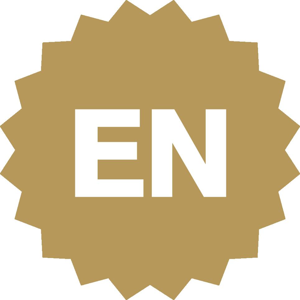 Eastnorfolk Gold Seal Logo White En