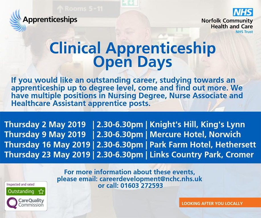 Clinical Apprenticeship Open Days