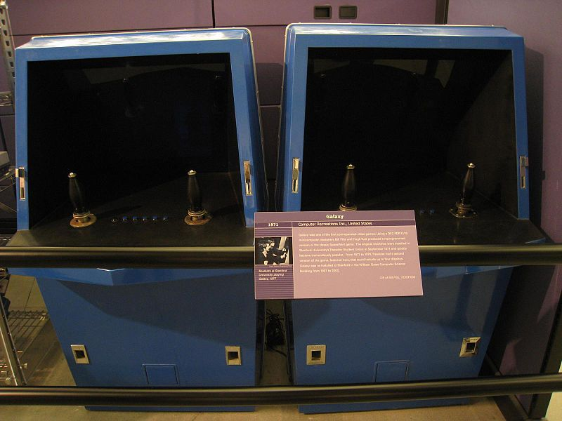 Post Image (Video Game Development: Galaxy Game at the Computer History Museum.  Image credit: Tom Purves, Flickr,  Creative Commons Attribution 2.0 Generic license)