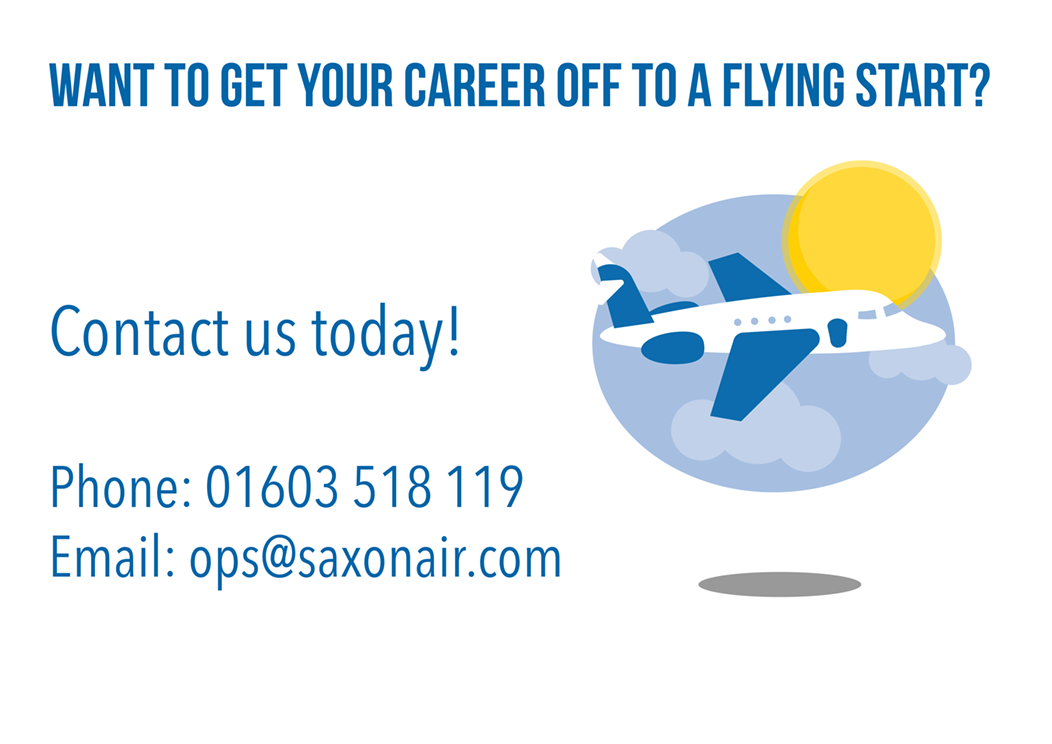 Company Image : Saxonair Career Pathways Route 3