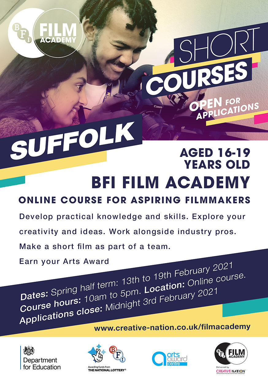 BFI Film Academy flyer