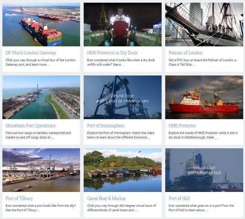 Maritime UK Virtual Tours (Image Credit: Maritime UK)