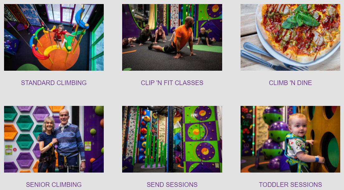 company Image (Clip n' Climb: Facilities and Services)