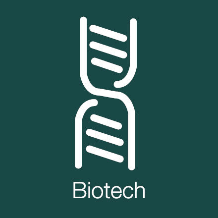 Bio Tech (Industry Icon: DNA Fragment)