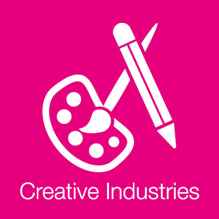 Creative Industries (Industry Icon: Art Equipment)
