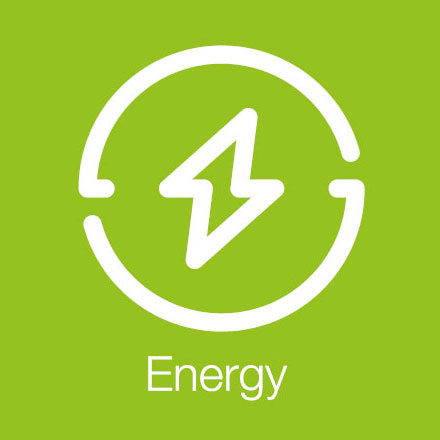 Energy (Industry Icon: Spark)