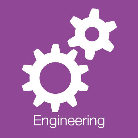 Engineering (Industry Icon: Cogs)