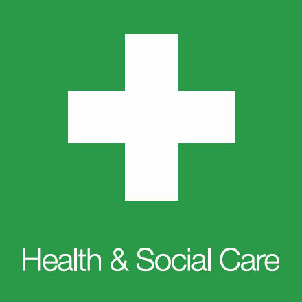 Health and Social Care (Industry Icon: Medical Cross)
