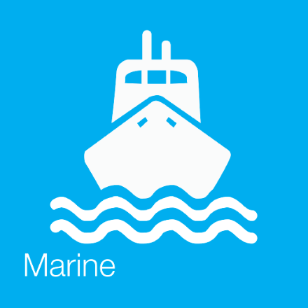 Marine (Industry Icon: Ship)