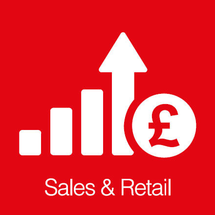 Sales And Retail (Industry Icon: Sales Forecast)