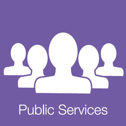 Public Services (Industry Level Icon: People)