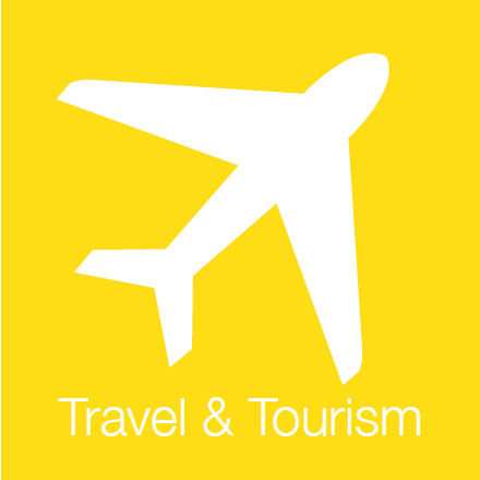 Travel And Tourism (Industry Icon: Aeroplane)