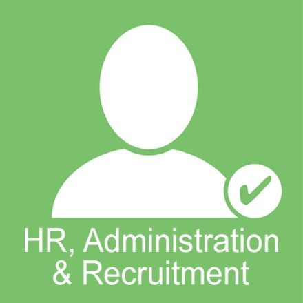 HR, Administration & Recruitment (Industry Icon: Person)