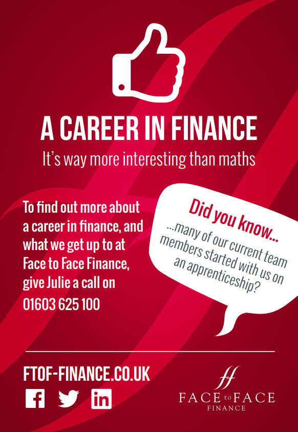 Company Image (Face to Face Finance: Career in Finance Flyer)