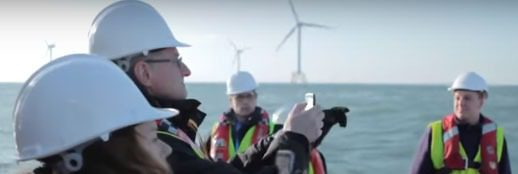 Company Image (Vattenfall UK: People Inspecting Site)