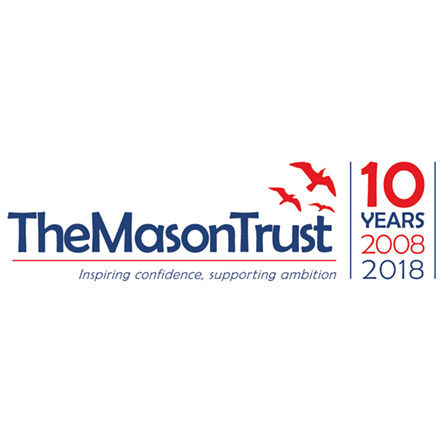 Organisation Logo 10th Anniversary (Mason Trust)