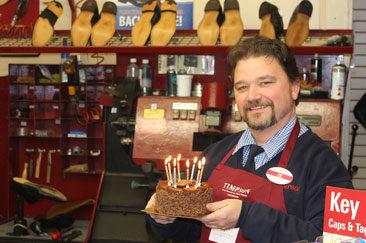Timpson Colleague Birthday Cake