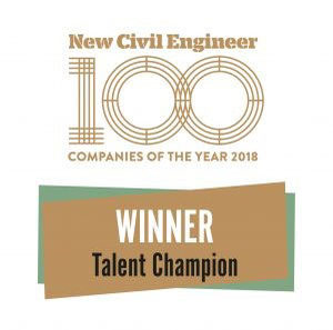 Company Image (Breheny: New Civil Engineer Talent Champion)
