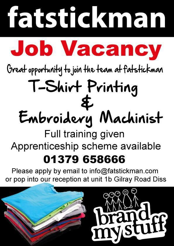 Post Image (fatstickman: Job Vacancy)