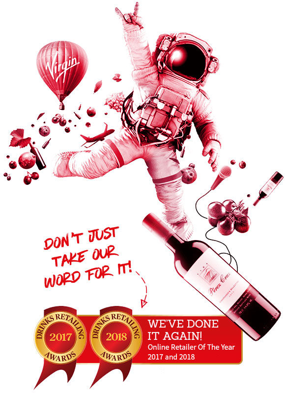 Company Image (Virgin Wines: Online Retailer of the Year 2017 / 2018)