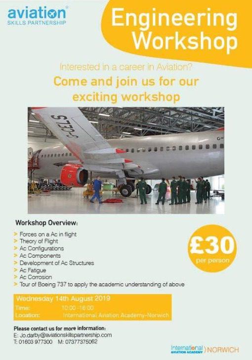 International Aviation Academy - Engineering Workshop Day