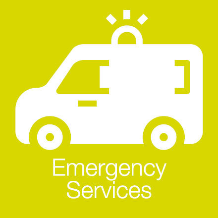 Emergency Services (Industry Level Icon: Emergency Vehicle)