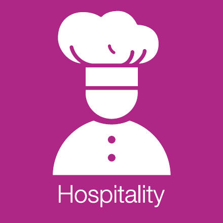 Hospitality (Industry Level Icon: Chefs hat)