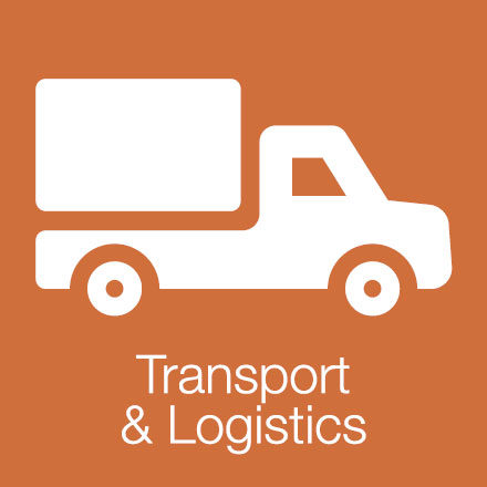 Transport & Logistics (Industry Level Icon: Lorry)