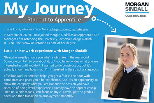 Organisation Image (Morgan Sindall: Apprentice Lucie)