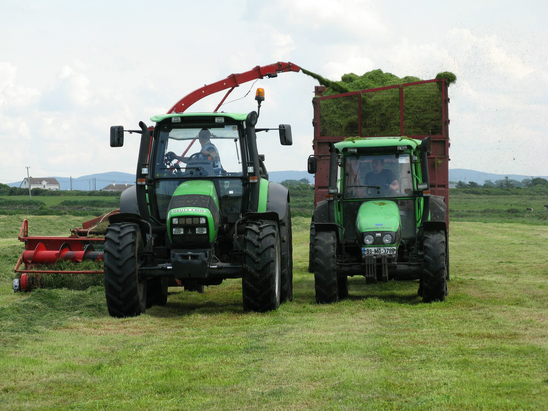 Agricultural Sciences and Food  (Industry Header: Tractors)