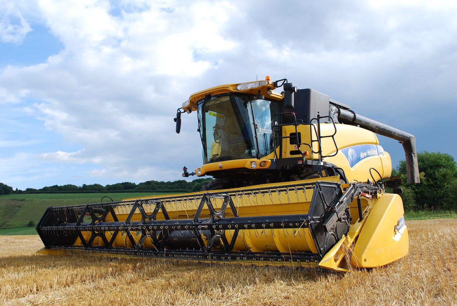 Agritech (Sector Header: Combine Harvester)
