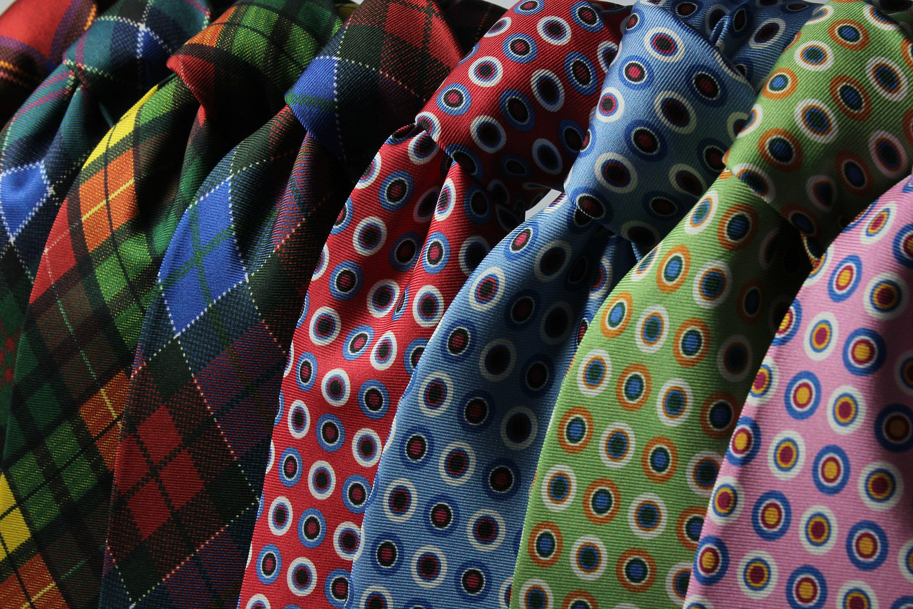 Fashion & Textiles (Sector Header: Coloured Ties)