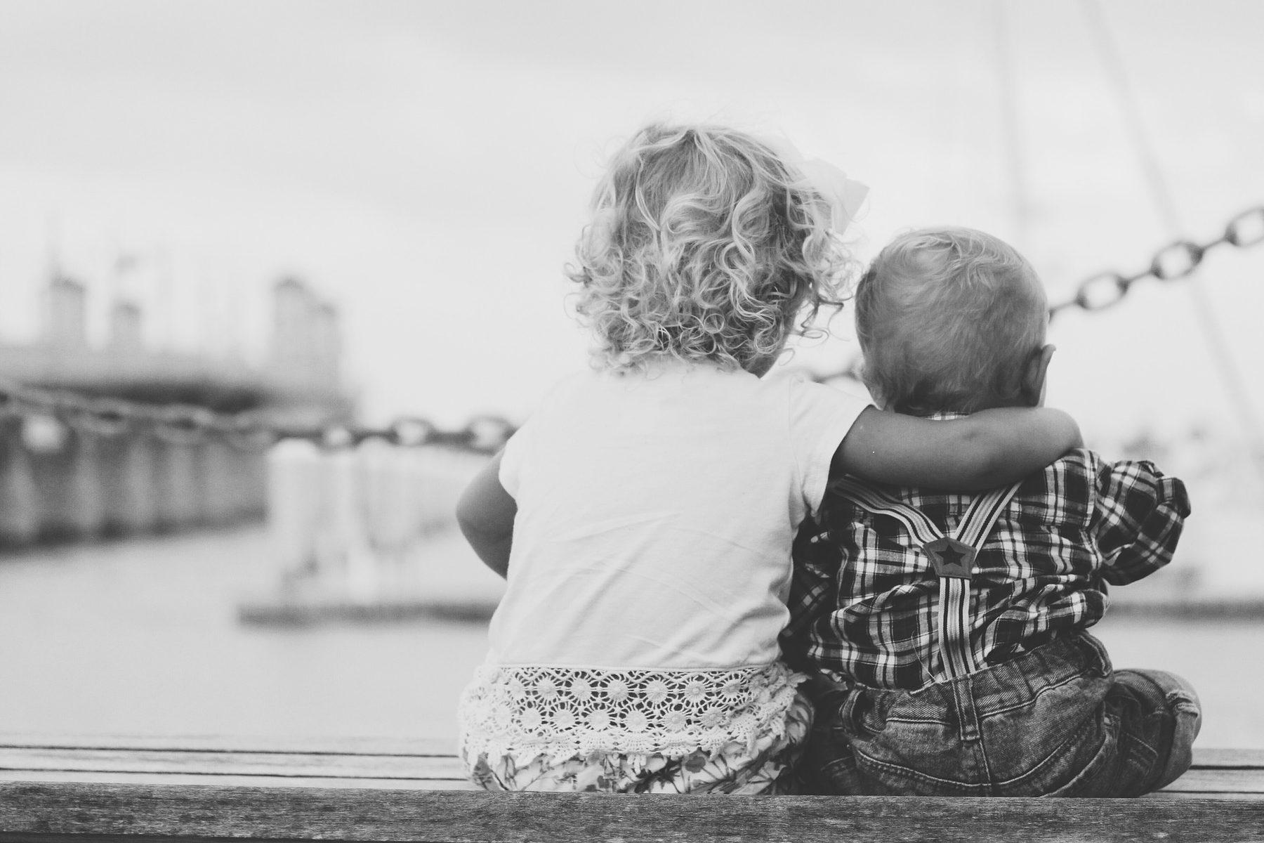Social Care (Sector Header: Children Hugging)