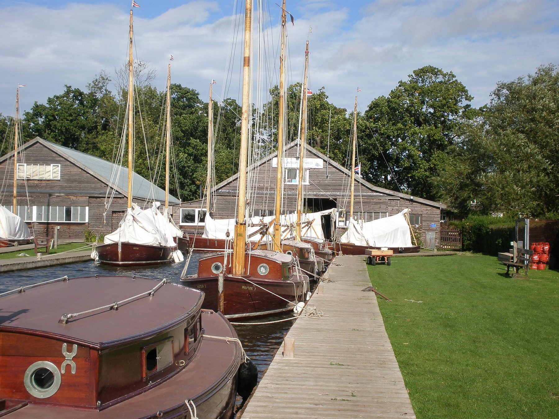 Marine Leisure  (Sector Header: Boats on the Norfolk Broads)