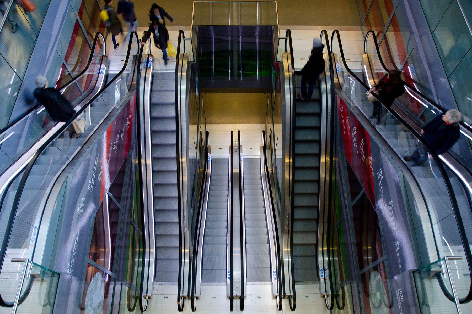 Sales and Retail  (Industry Header: Escalators)