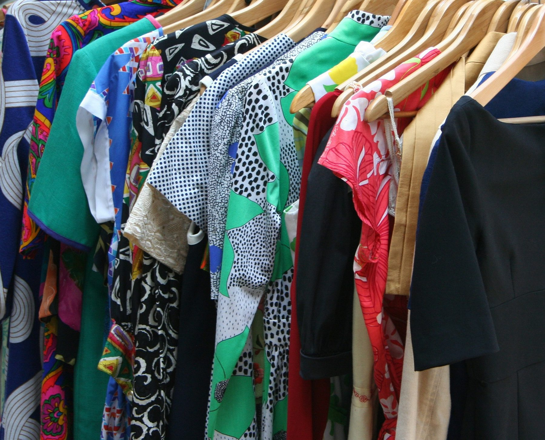 Job Role Image (Wardrobe Assistant: Clothes on Hangers)