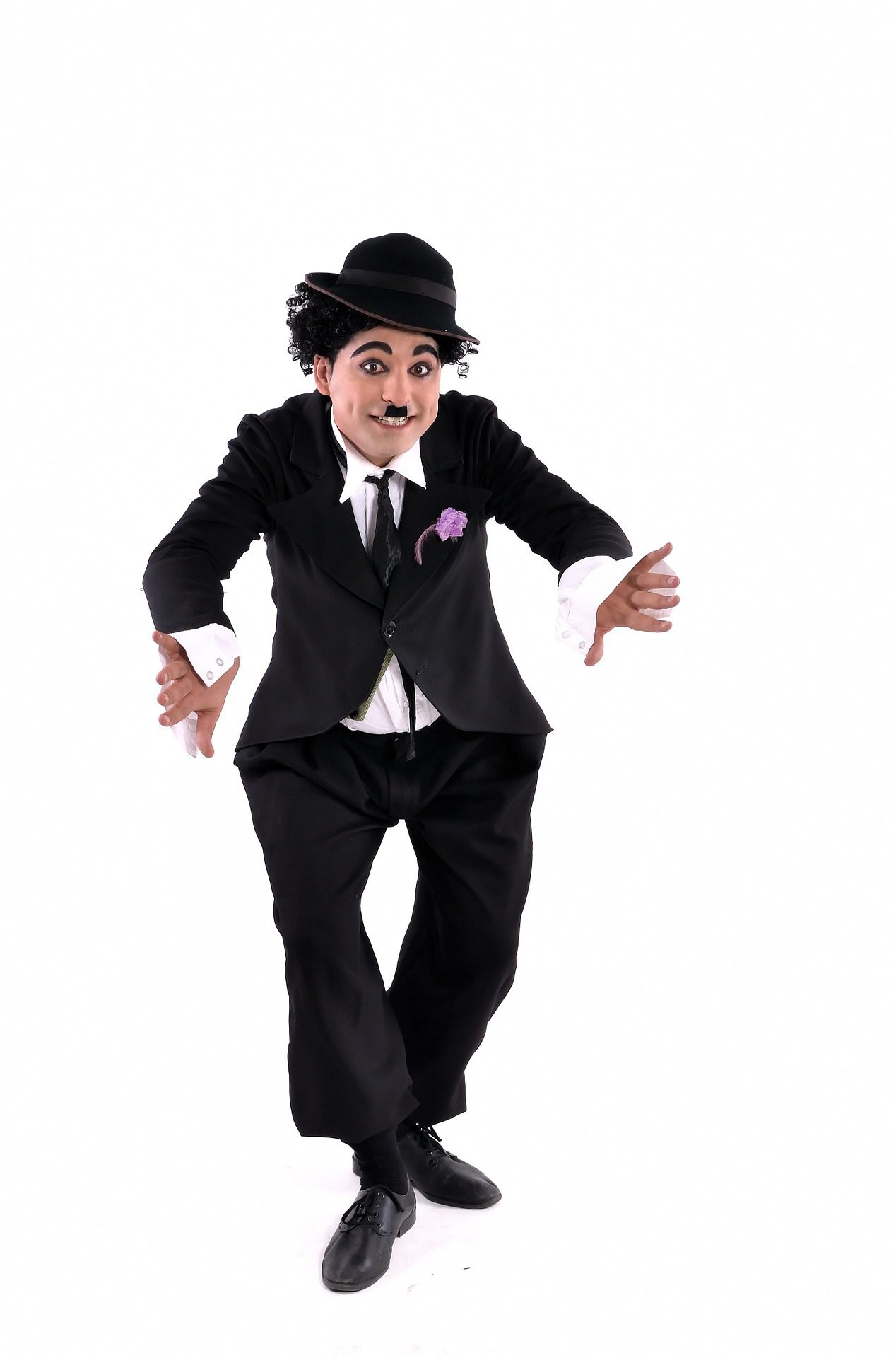 Job Role Image (Comedian: Person Dressed as Charlie Chaplin)