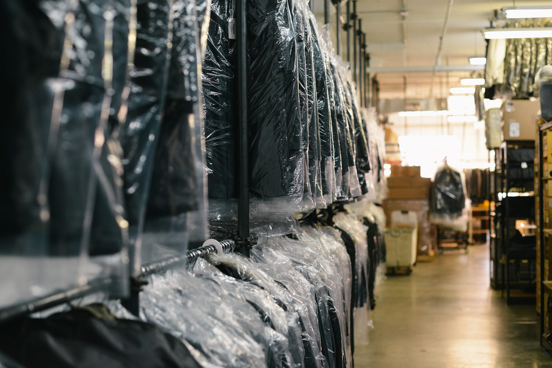 Job Role Image (Warehouse Manager: Clothing Stock in Warehouse)