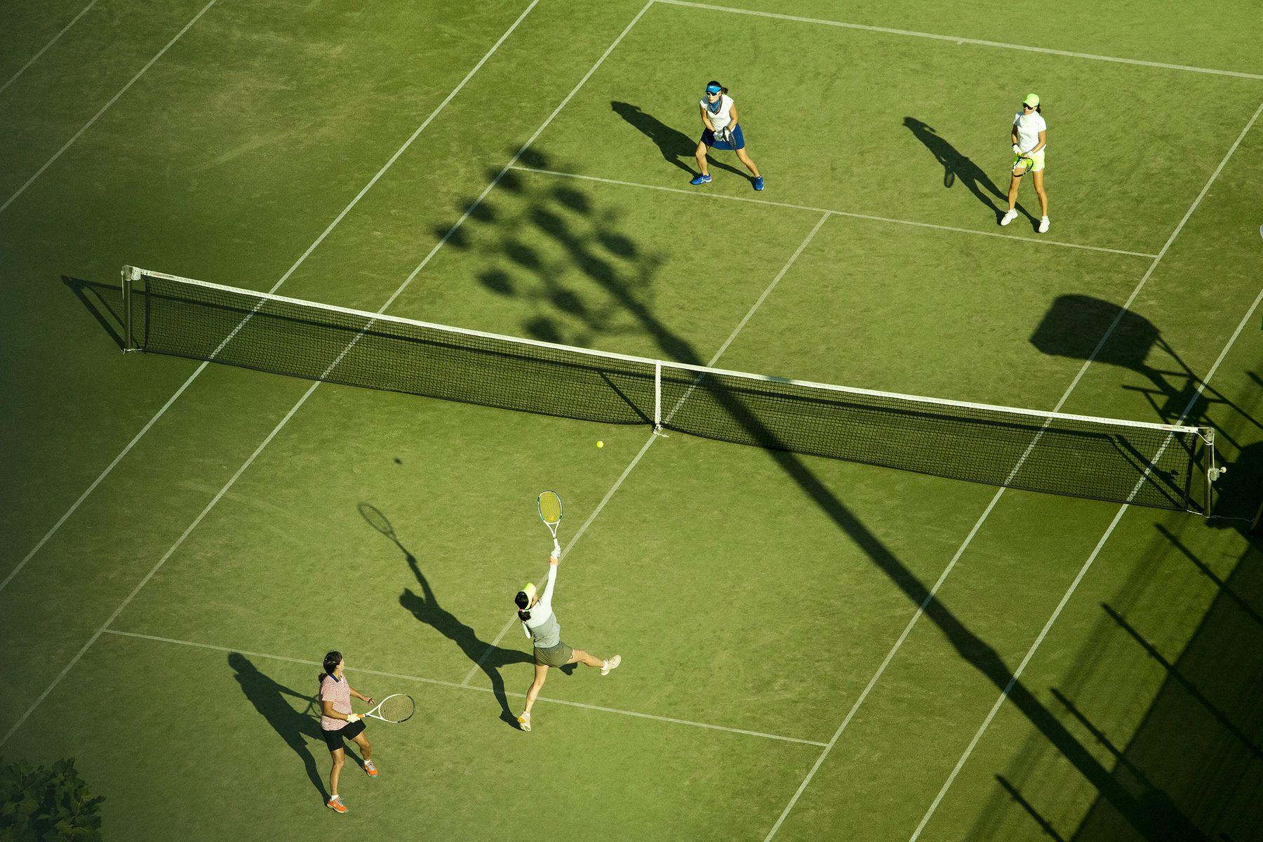 Job Role Image (Sports Journalist: Tennis Match)