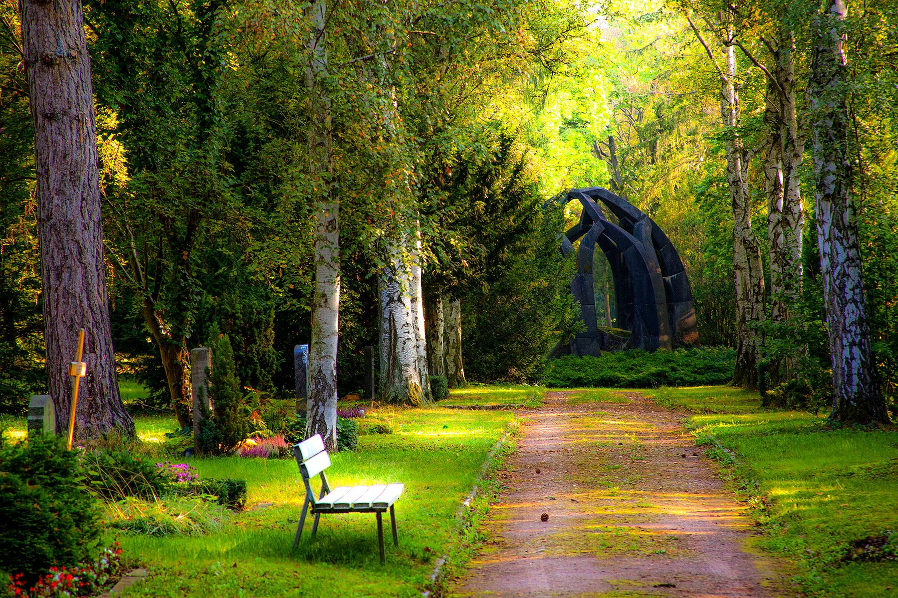 Sector Image (Funeral Services: Peaceful Garden)