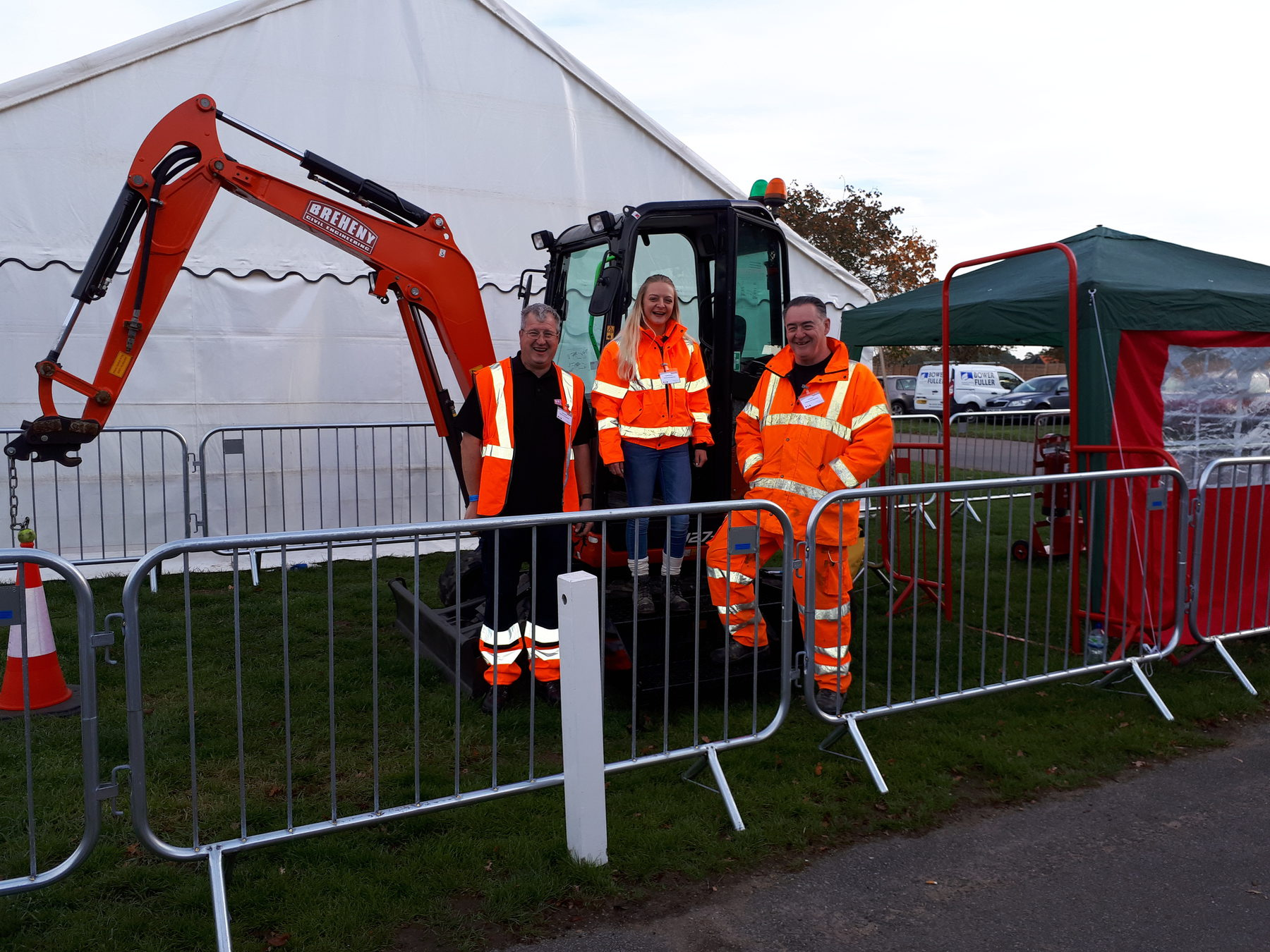 Breheny Team at the Suffolk Skills Show