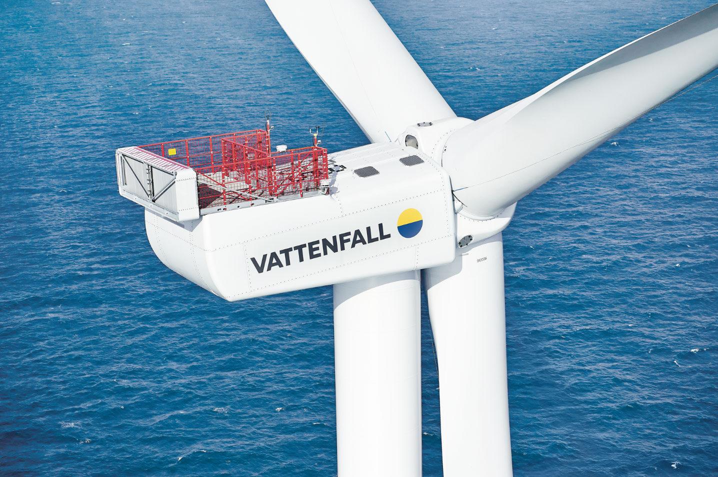 Company Image (Vattenfall: RAS7531 Offshore Wind Turbine)