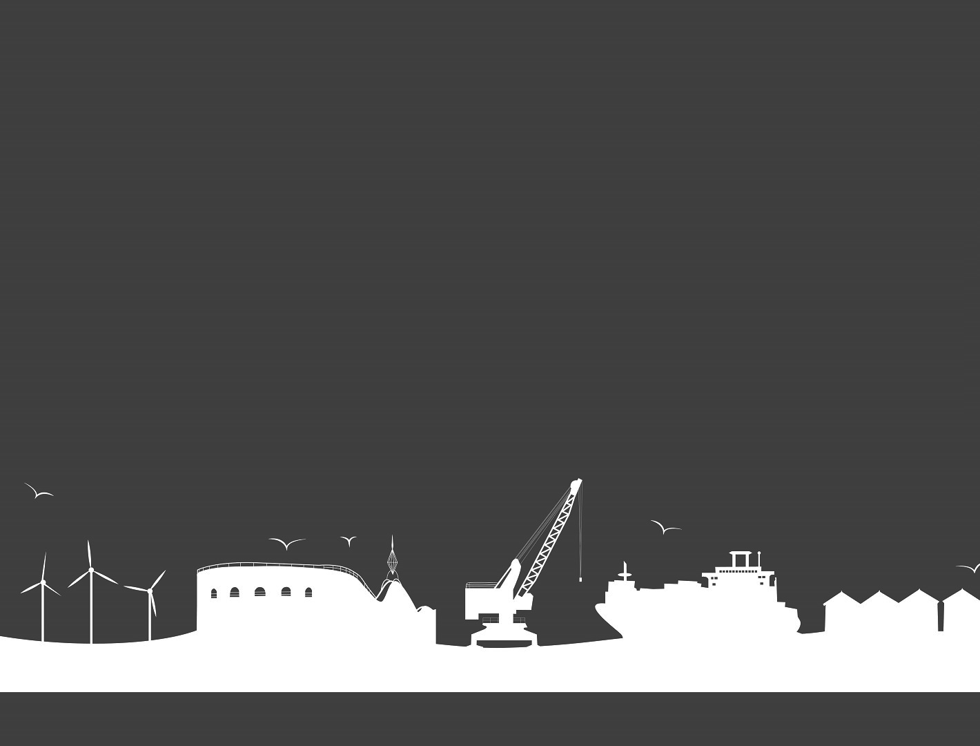 Organisation Image: (East of England Offshore Wind Skills Centre: Ports & Turbines Silhouette)