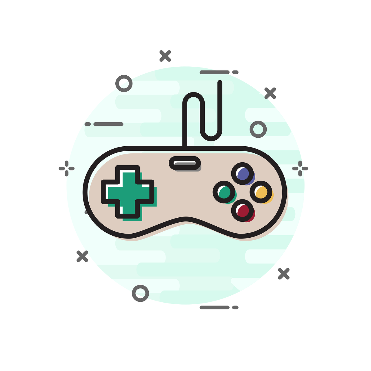 Site Image (Videogame controller, video game, computer game, games)